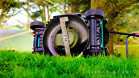 Lawnmower Blade Sharpening and Cleaning