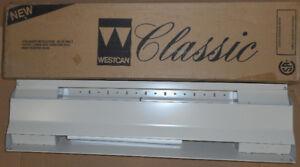 """27"""" 500w 240v Almond Baseboard Heater"""