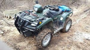 ATV wanted, 500 cc  or greater