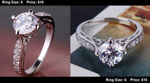 **BRAND NEW** Engagement Rings Promise Rings LOTS TO CHOOSE FROM Kitchener / Waterloo Kitchener Area image 2