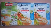 Baby Rice Cereal 3 Boxes (6M+ & 12M+)