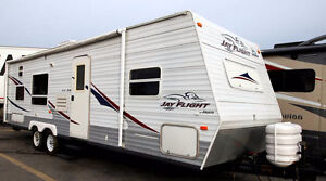 Renting our 29BHS jayco camper