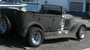 HOT ROD FORD 1928 TOURING CONVERTIBLE