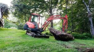 Mini Excavator Wanted