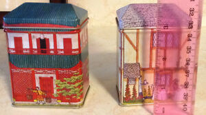 VINTAGE TEA TIN THE TINSMITH'S CRAFT. ANNÉE 1980 Gatineau Ottawa / Gatineau Area image 4