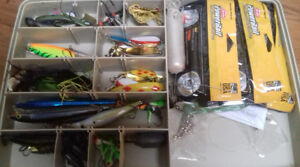 Fishing lures, rod, gear