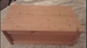 Christmas idea - Toy Box -  solid wood - 40 yrs old - from IKEA