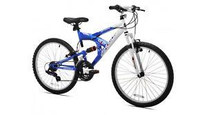 "Kent 24"" Shogun Boy's Rock Mountain Bike"