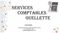 Services Comptables Ouellette / Bookkeeping