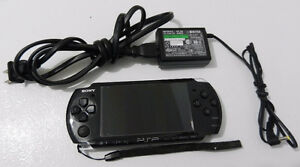 PSP 3001 Model Handheld Game Console with games and accesories