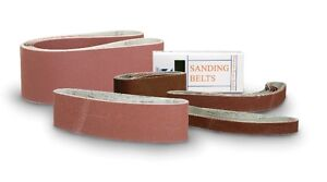 Sanding belts - various sizes and grits