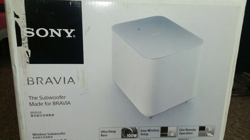 Brand new Sony woofer - unpacked