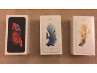 IPhone 6S plus 128gb in GOLD / White / Black UNLOCKED any network