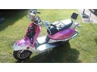 Rockabilly 125 scooter moped project low miles spares