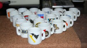 McDonalds Miniature NHL mugs