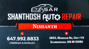 SHANTHOSH AUTO MECHANICAL AND BODY WORKS OPEN SEVEN DAYS