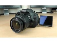 Canon 600D/Rebel T3i DSLR Camera