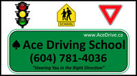 Ace Driving School in Burnaby and New Westminster