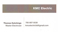 KMC Electric Now serving Leduc and Area
