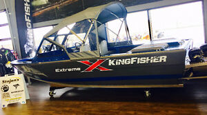 New 2017 KingFisher 1775 Extreme River Boat