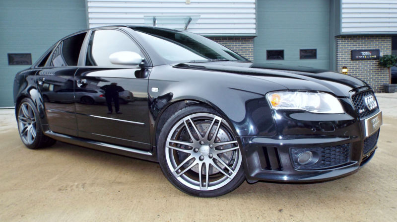 2006 Audi Rs4 42 V8 Quattro Saloon Phantom Black Massive Spec Full