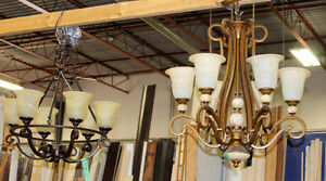Chandelier Lights @ HFHN ReStore in Cobourg