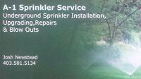 A -1 Sprinkler Service