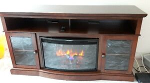 Nevada Fireplace Tv Stand