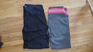 ladies size large yoga pants