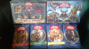 HERO REALMS Deck Building Game BUNDLE (+All Expansions - new)