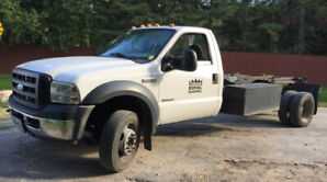 JUST REDUCED - $5,000.! - Ford F550 HOOK LIFT Bin Truck