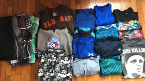 Lot of boys 8-10 size clothes