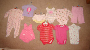 Girls Clothes, Dresses - 3-6, 6, 6-12, 12, 12-18 mos/ Boots 3,5