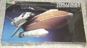 Monogram 1/144 Space Shuttle & Booster Rockets