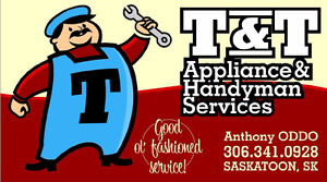 T & T APPLIANCE & HANDYMAN SERVICES
