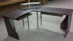 L Shaped 3 Piece Computer Desk