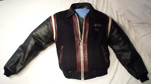 Harley Manteau cuir, 3 couleurs, Homme Large, 175$