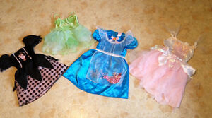 Various princess costumes