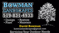 Call Bowman Landscapes for your landscaping needs