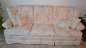 Matching couch and armchair