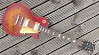 Custom Relic Cherry Burst Les Paul