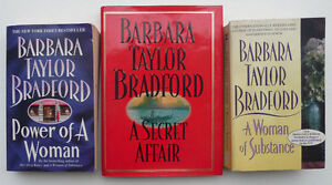 3 Barbara Taylor Bradford books including 1st Edition hardcover Oakville / Halton Region Toronto (GTA) image 1
