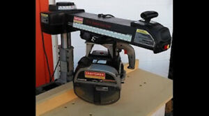 "CRAFTSMAN PROFESSIONAL 10"" RADIAL ARM SAW"