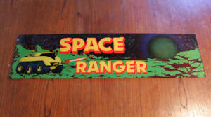 Arcade video game trans-lite SPACE RANGER