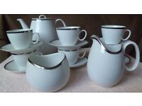 1970s Thomas of Germany complete 16-piece coffee set