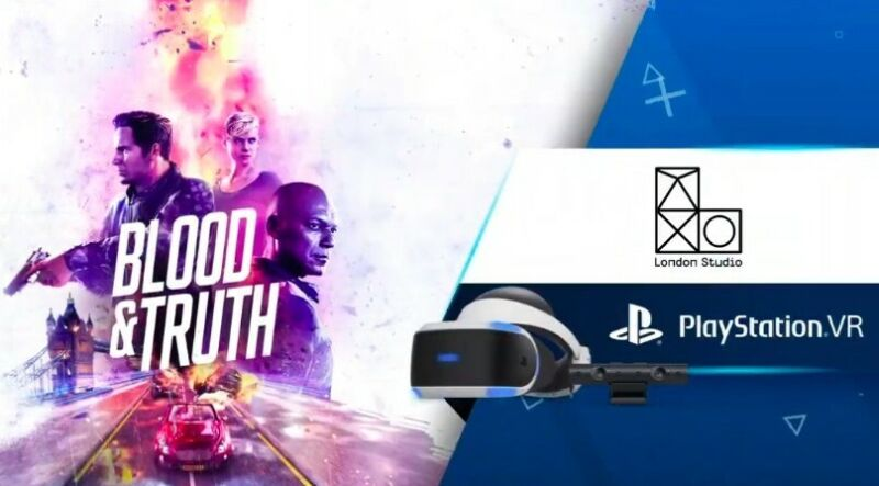 PS4, VR, PS4VR, bundle, used, Blood&Truth,