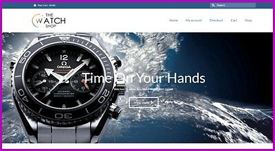 Luxury Watches Website1281.84 A Salefree Domainfree Hostingfree Traffic