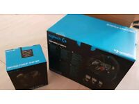 Logitech g29 steering racing wheel ps3 ps4 pc new sealed + shifter