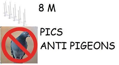 8 Meter Protection Peak Anti Pigeon Repellent Birds Avoids Nuisances Dejections