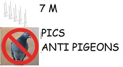 7 Meter Protection Peak Anti Pigeon Repellent Birds Avoids Nuisances Dejections
